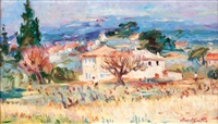 paysage provençal by max agostini
