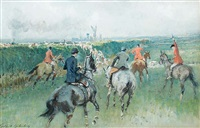 essex farmers hunt by gilbert holiday