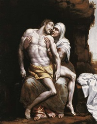 the pietà (also attributed to bernardino gatti, il sojaro) by scipione pulzone