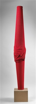 untitled (red trousers) by erwin wurm