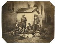 famille de rétameurs ambulants by ludwig angerer