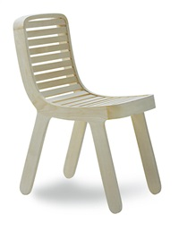 a my 68 chair (prototype) by michael young