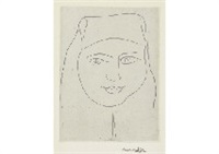une religieuse a l'expression ironique by henri matisse