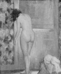 standing nude by bernhard gutmann