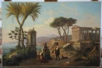 recueillement devant l'autel d'une sainte en italie du sud by emmanuel coulange-lautrec