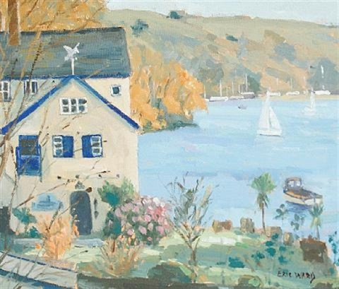 daphne du mauriers house on the helford by eric ward