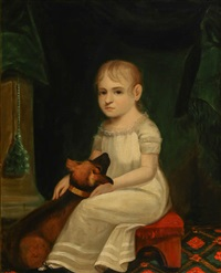 young child with pet dog by american school (19)
