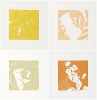 a tremor in the morning (portfolio of 10 + 11 others; 21 works) by alex katz