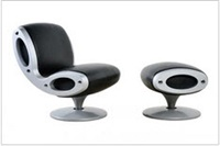 gluon chair and ottoman by marc newson