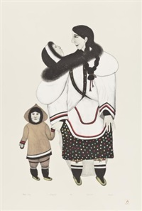 woman today by napatchie pootoogook