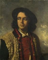 portrait de berger grec by nicolaos xydias typaldos