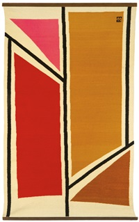 untitled (tapestry) by evelyn ackerman