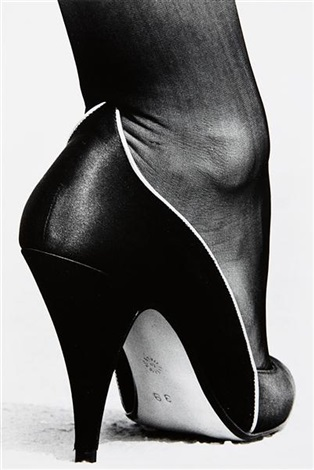shoe monte carlo from private property suite i by helmut newton