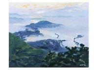 morning view of tomonoura by hitoshi yamaba
