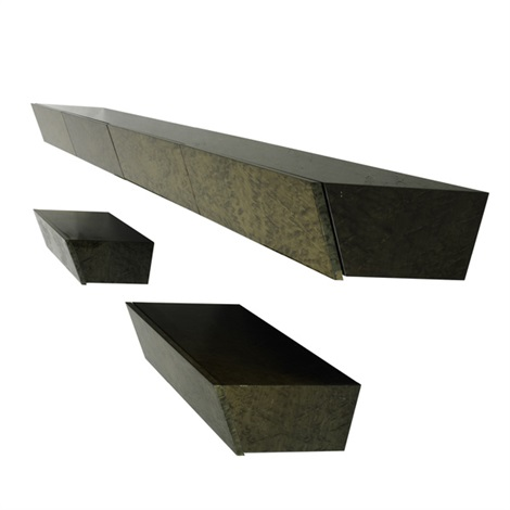 wall-hanging console (+ 2 others; 3 works) by pace manufacturing (co.)