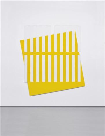 die farbe gesetztersetzt b2 gelb by daniel buren