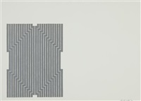 marquis de portago (from aluminum series) by frank stella