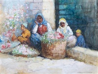flower vendors by warwick goble