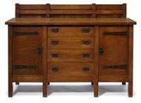sideboard by gustav stickley