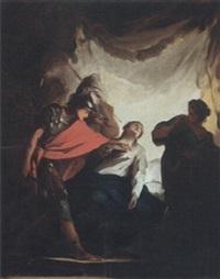a subject from roman history by louis joseph le lorrain