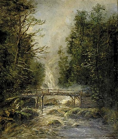 the old bridge by joseph jefferson