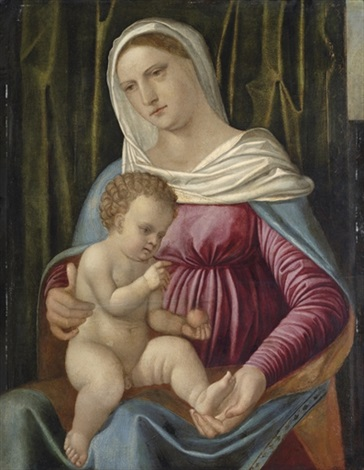 the madonna and child by romanino girolamo romani