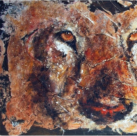 regard du lion by kade