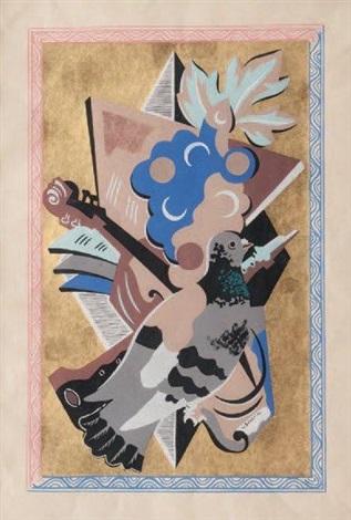 composition à la colombe by gino severini
