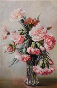 carnations by flora heilmann
