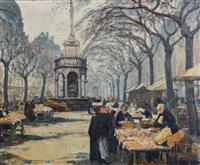 place du marché à liège by marcel de lince