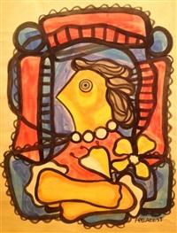 perfil de mujer by amelia peláez