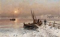 vinterfiske by frithjof smith-hald