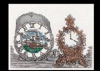 2 clocks ship smllr 2 works by sumio kawakami