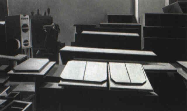 Louise Nevelsonu0027s Studio By Lowell Nesbitt