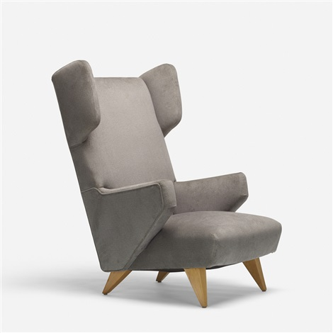 Wingback Lounge Chair By Jens Risom