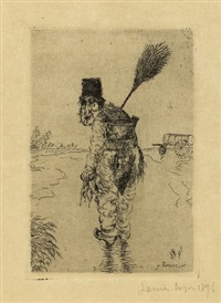 le vidangeur by james ensor
