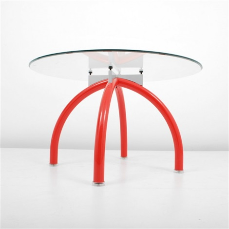 spyder diningcenter hall table by ettore sottsass