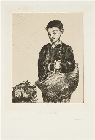 le gamin by édouard manet
