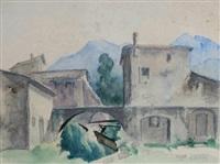 paesaggio (+ another; 2 works) by lorenzo gelati