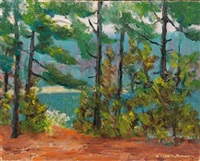 lake view (+ another; 2 works) by william f. heffernan