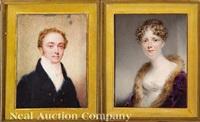 lord lyon; lady lyon (2 works) by william john (sir) newton