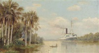 the steamship hildebrand on the mile passage up the amazon to manaus by d.w.e. gutman
