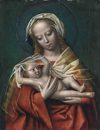 the virgin and child by ambrosius benson