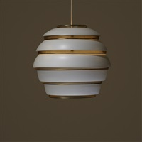 beehive ceiling lamp, model a331 by alvar aalto