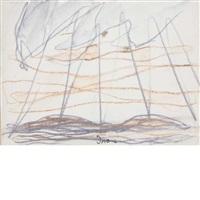 sun on seneca lake by arthur dove