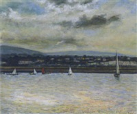 dun laoghaire harbour by diarmuid boyd