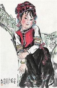 少女图 by liu wenxi