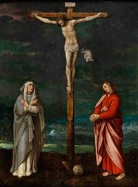 christus am kreuz by adriaen isenbrant