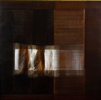 abstract in brown by lionel abrams