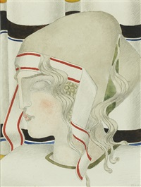 femme à la coiffe by joseph csaky